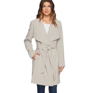 NWOT Ralph Lauren Belted Drape Front Coat